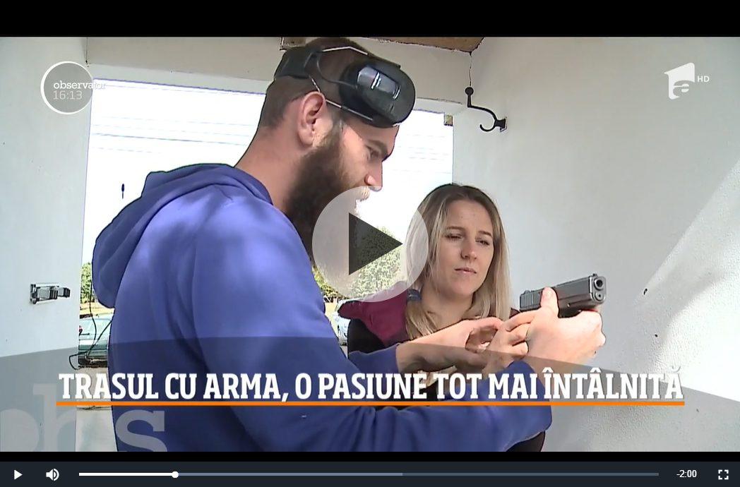 Trasul cu arma, o pasiune tot mai întâlnită în România (Video)